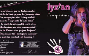nadinephotos , jaquette CD de la chanteuse LIZ'AN (1)